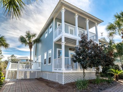 Large Porches,  Pool,  Steps to Beach, Close to Gulf Place!  -  Beach Daze 30A at Blue Mou