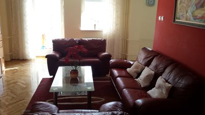 Photo for Sunny, spacious apartment in the heart of the city