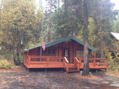 Photo for Cozy Donner Lake Log Cabin