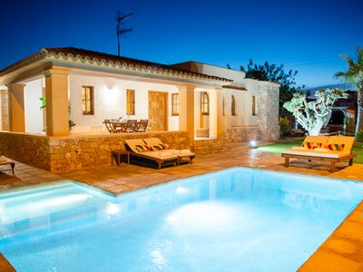 Photo for ⭐⭐⭐⭐⭐5min to Ibiza town, salt water pool, countryside