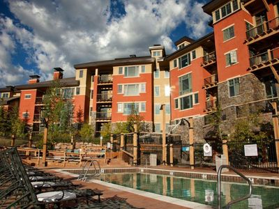 Photo for Canyons Village 2BR Steps from the Gondola and Near All Resort Amenities