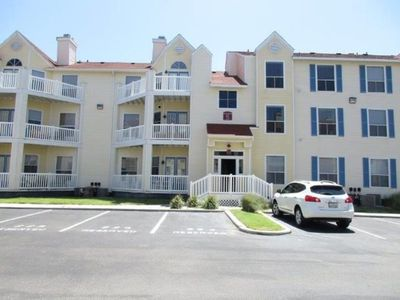 Photo for Two bedroom/ Two bath beach side condo at Beach Club in Corpus Christi Island