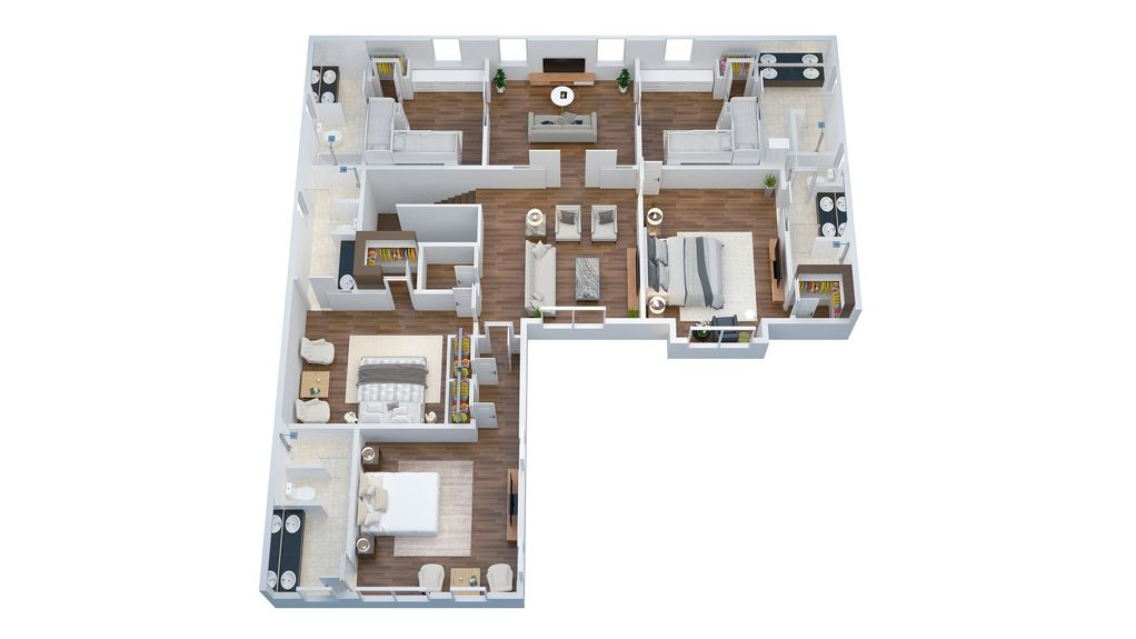 Brand New in 2018,STUNNING Home Steps to beach~3 masters, 2 jr mstr & bunk suite