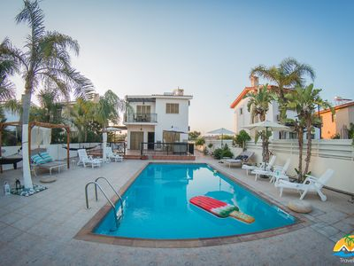 Photo for Villa Niki (Private pool, 90 meters from the beach,Near Nissi Beach)