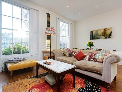 Photo for Only a 10 min walk to King's Cross from a beautiful 2 bed apartment (Veeve)