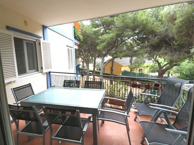 Photo for Apartment in the beautiful natural setting of Las Rotas, in Denia.