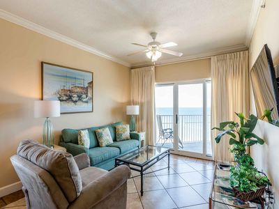 Photo for Gulf Front Condo with Amazing Gulf Views ~ Private Balcony ~ Great Resort Amenities!