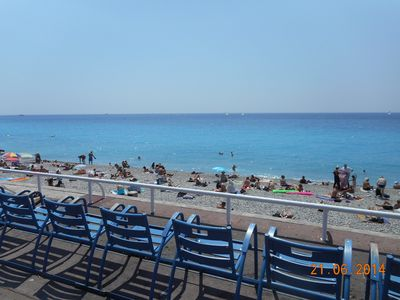 Photo for SMALL 2 BEDROOM AIR CONDITIONED NEAR SEA TOURIST CENTER OF NICE