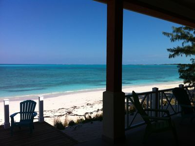 Photo for Beach Villa - Luxury in Friendly Exuma - Beachfront - Convenient location
