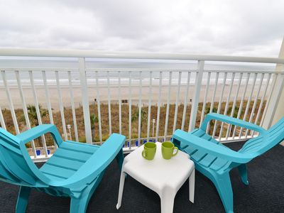 Photo for Ocean Front BayWatch Resort 419 - Beautfully Updated!  Reduced Rates for Fall!
