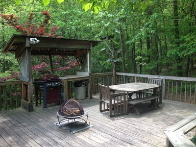 Photo for Serene Hideaway Steps from National Forest