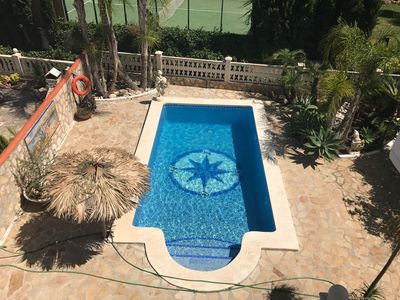 Photo for VILLA SOLMAR - Villa Solmar with Panoramic View, Wifi, A/C, Parking and Private Pool