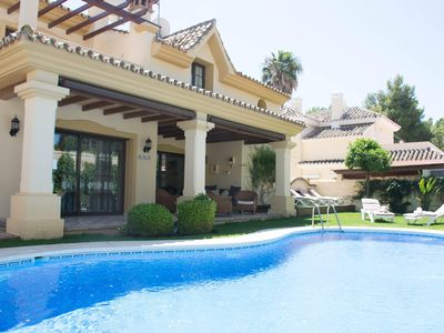 Photo for Family friendly Villa Within Walking Distance From Puerto Banus And the Bea