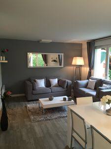 Photo for HOUSE IN DEAUVILLE 3 CHB, 2 bathrooms, large garden, tennis, swimming