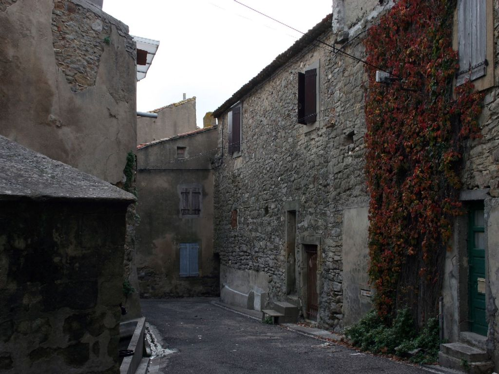 A Zen Moment in a Rural French Village among the Minervois Vineyards