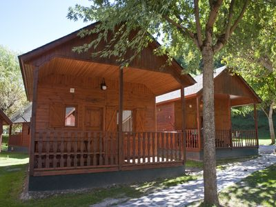 Photo for Cabin or bungalow Camping Verneda for 9 people