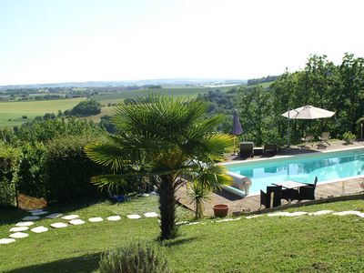 "Photo for Cottage ""The View"", 6 people, 3 bedrooms, comfort and atmosphere at 6 min. Albi"