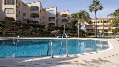 Photo for Marina del Sol- Beachside 1BR Sea View Apartment, Heated Pool
