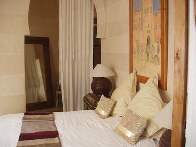 Photo for private riad, hotel services. breakfasts, linen and maintenance included.