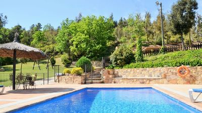 Photo for 6 bedroom Villa, sleeps 13 in Riudarenes with Pool and WiFi