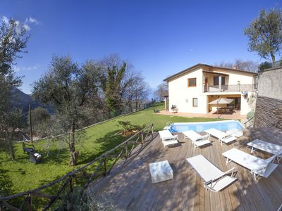 Photo for Villa Gradoni. Sorrento Villa. Pool, Garden and Sea Views for up to 9 guests