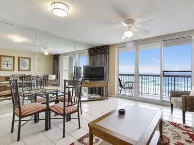 Photo for Pelican Beach 509! GULF FRONT(5th Floor) FREE Golf, Dolphin Cruise and More! Perfect for Families!