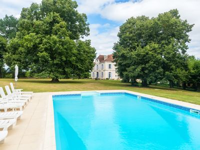 Photo for 10 bedroom Chateau, sleeps 20 with Pool and FREE WiFi