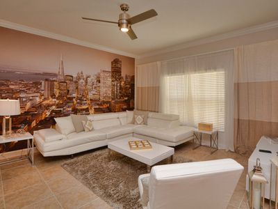 Photo for 4 miles to Disney/Stylish and Contemporary/Private Pool/Wifi/