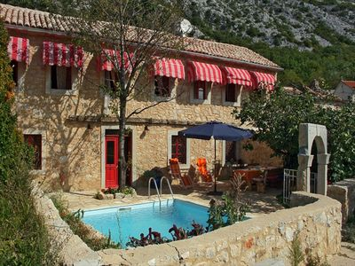 Photo for Red Lady - Rural Pool Villa With A Beautiful View On Medieval Fort
