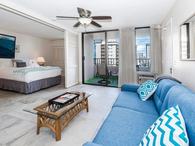 Photo for End Unit Royal Kuhio Condo Free Parking, Full Kitchen, And Great Amenities