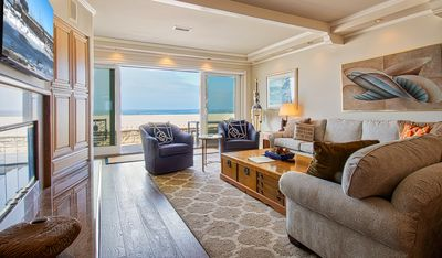 Photo for Spacious Oceanfront Single Family Home Located on the Boardwalk 1/2 Mile to the Newport Pier!