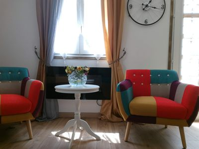 Photo for Modern housing, new, cozy decor, 100% equipped, and located 15 minutes from Paris.