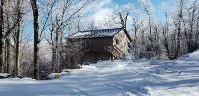 Photo for Non Smoking Large house close to the ski slopes and the center of town
