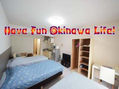 Photo for Popular area 1Room [902] Kokusai street and station are nearby!Perfect for relaxing Okinawa sightseeing!