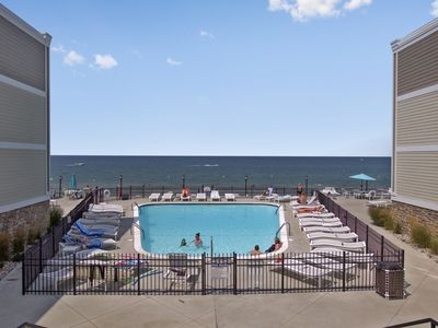Photo for Asher's Lake Michigan Premier 1BR Beachfront Lake facing Condo-DISCOUNTS