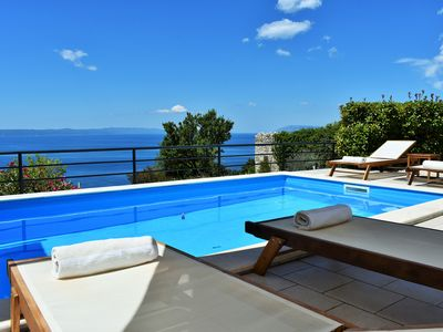 Photo for Villa Vedran with stunning views for relaxing holidays.