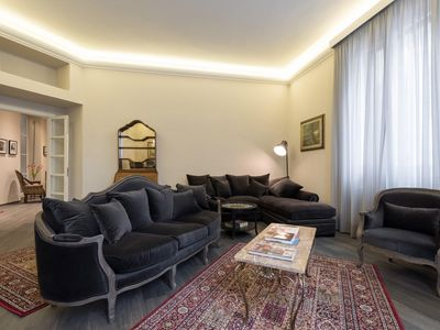 Photo for Grand Apartment  apartment in Piazza della Libertá with WiFi, integrated air conditioning, private …