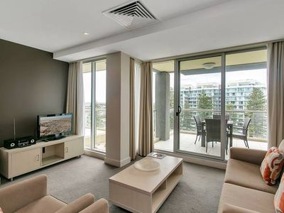 Photo for Glenelg Highrise Beachside Stylish Apartment