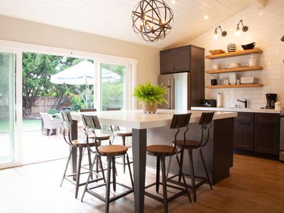 Photo for Magnolia Cottage in La Jolla: beautifully decorated w/ fenced backyard and patio for outdoor living