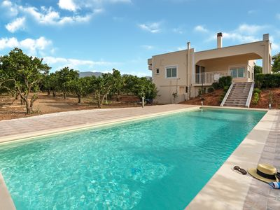 Photo for Villa Rosemagnolia, pool 35sqm,  in green, gardens, full sun close to everything