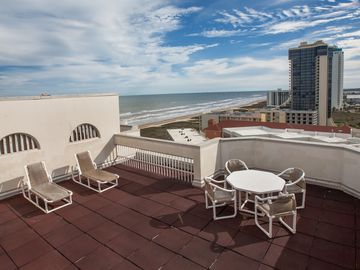 Spectacular Beachfront 15th Floor Penthouse with Private Rooftop Balcony