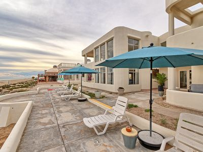Photo for Desert Wolf is a stunning beach front home sleeps 20+