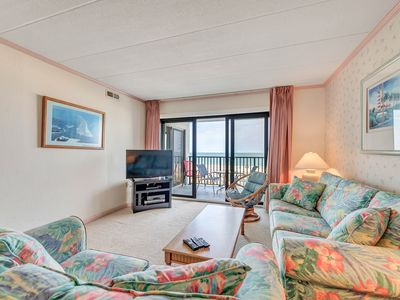 Beautiful Direct Ocean Front 2 Bedroom 2 Bathroom Condo In Flying Cloud!