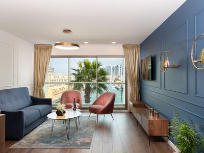 Photo for Deluxe apartment at the Herzliya Marina,  50 meters from the sea