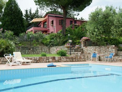 Photo for Beautiful Holiday Villa Near Collesano With Swimming Pool