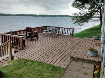 Photo for Water's Edge Cabin: Relaxing getaway on Maple Lake 1 hour north of Twin Cities