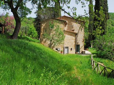 Photo for Casa Piccina - Nestling among tall cypresses, ancient oaks and… silence