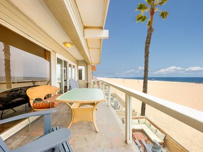 Photo for Incredible Oceanfront Location w/ Beautiful Views + Private Deck