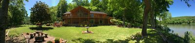 698' of White River frontage!! Big, spacious yard!