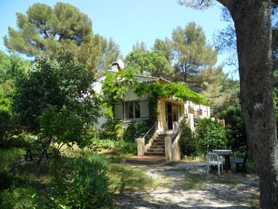 Photo for family villa 10/12 pers. 300m from the sea in gigaro, quiet 15 km st tropez